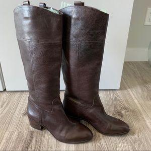 LOUISE ET CIE Lo-Verrah Tall Boots Brown Size 8.5